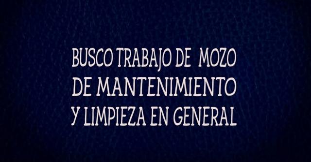 BUEN EMPLEADO DE  LIMPIEZA - foto 1