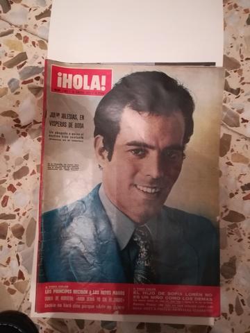 Colección Revistas Hola 1971