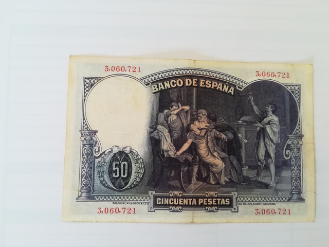 Colección Billetes Antiguos