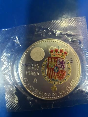 Moneda De Plata 30