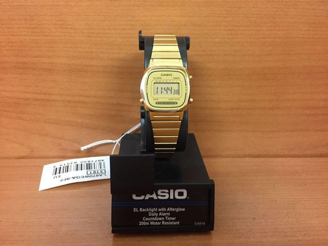 La670wega 9ef Dorado Reloj Retro Casio thQCBsrdx