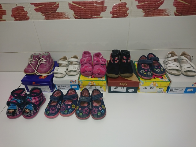 7d2666f2 COM - Calzado en Madrid. Venta de calzado bebe nina de segunda mano en  Madrid. calzado bebe nina de ocasión a los mejores precios.
