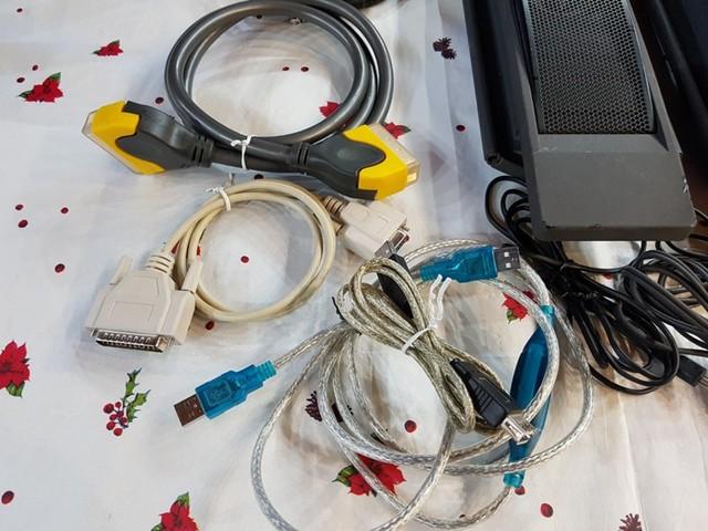 LOTE ALTAVOCES TV Y CABLES SONIDO-IMAGEN - foto 3