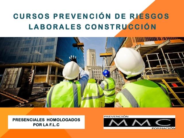 CURSO 20H RIESGOS LABORALES CONSTRUCCION - foto 1