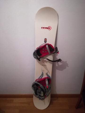 TABLA DE SNOWBOARD 156 Y FIJACIONES - foto 3