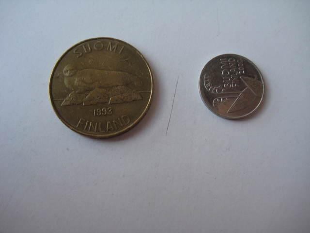 Vendo 2 Monedas De Finlandia.