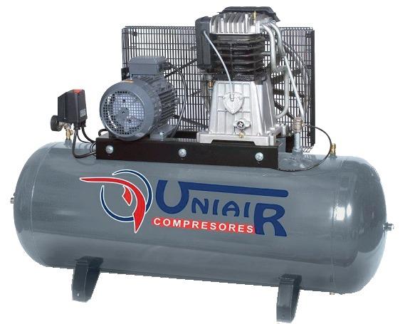 COMPRESOR UNIAIR 300 LITROS  5. 5 HP-380V - foto 1