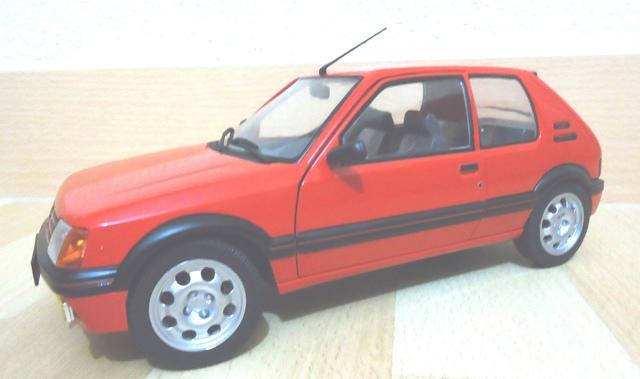 Maqueta Peugeot 205 Gti 1:18