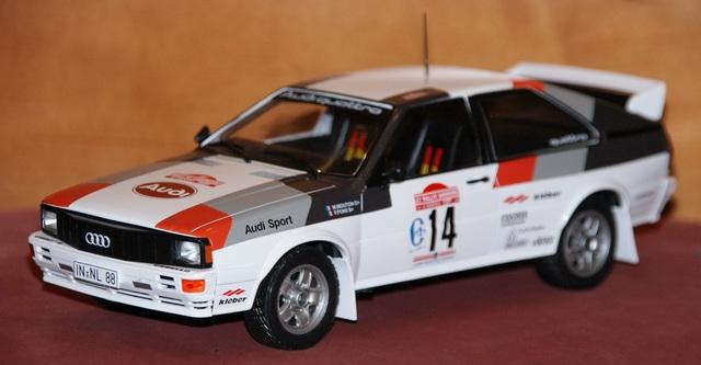 Audi Quattro #14 Mouton Rally San Remo 1