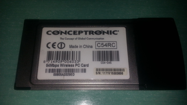 CONCEPTRONIC C04-028 DRIVER FOR MAC