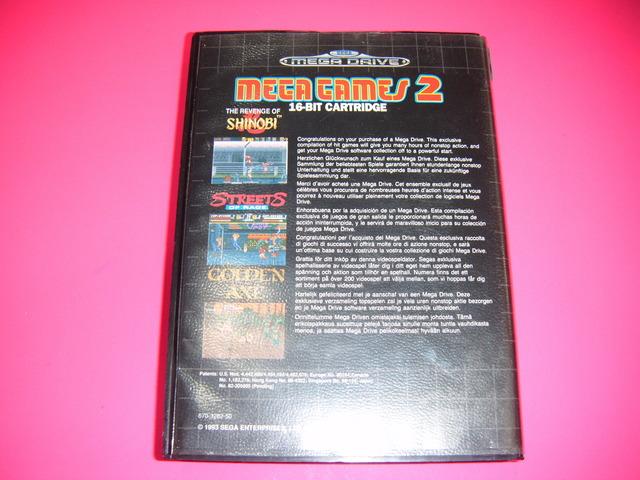 MEGA GAMES 2 SEGA MEGADRIVE - foto 2