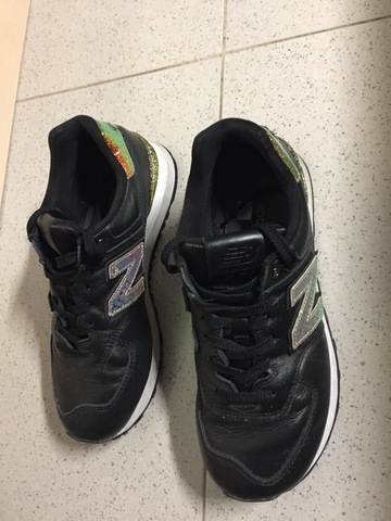 new balance 38 negras