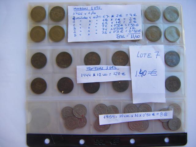 Lote Nº 7 - Monedas 1944 A 1966 -