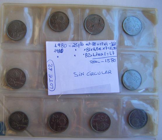 Lote Nº 12 - Monedas De 1980 -- Mundial
