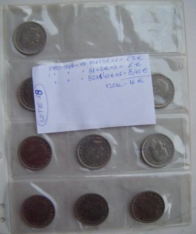 Lote Nº 18  - Monedas De 1980 De 50 Pta