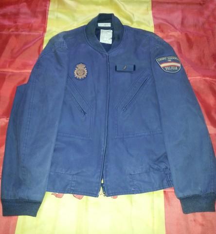 CHAQUETA AZUL POLICIA NACIONAL U. P. R