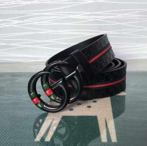 zapatos deportivos 98de8 5e9d7 CINTURON GUCCI HEBILLA GG NEGRO HOMBRE