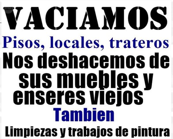 VACIADOS Y LIMPIEZA - foto 1