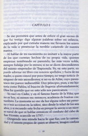 LIBRO TRAFALGAR,  DE BENITO PÉREZ GALDÓS - foto 4
