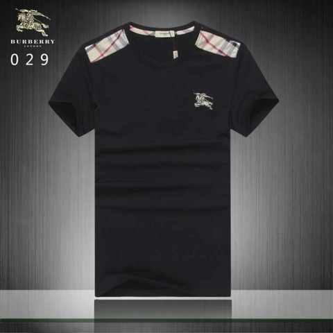 Negra Para Hombre Negra Burberry Para Camiseta Burberry Hombre Camiseta Camiseta Burberry tsChQrd