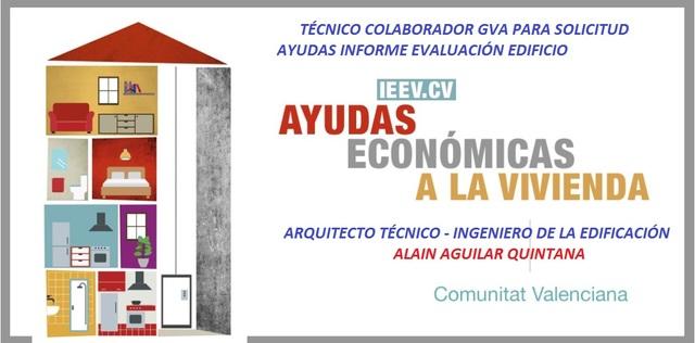 AYUDAS INFORME EVALUACION EDIFICIO GVA - foto 1
