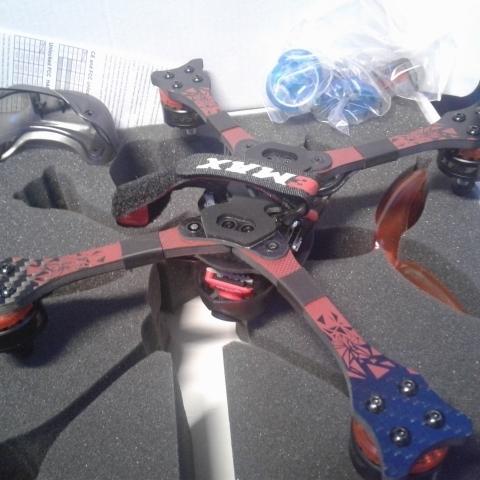 DRON CARRERAS HAWK 5 F4 210MMFPV - foto 6