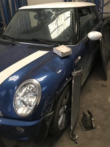 Mini Tubo Central De Escape Pernos de Placa de Montaje-Juego de 6-Cooper//S R50 R52 R53