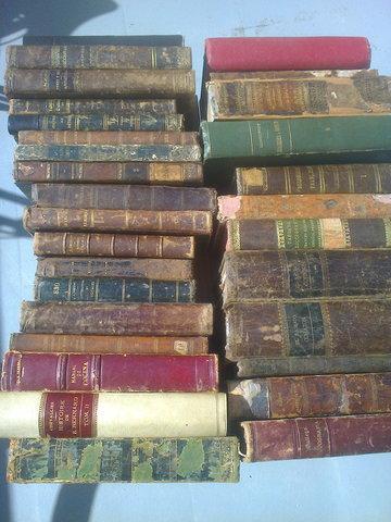 Recogida de libros viejos en barcelona