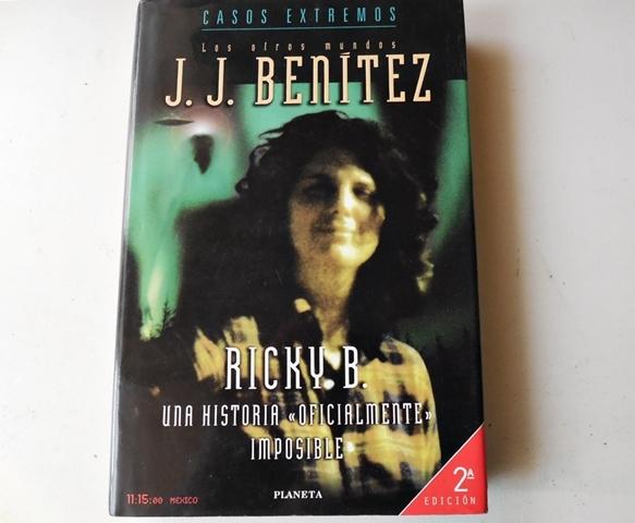 RICKY B. ,  LIBRO DE J. J.  BENÍTEZ - foto 1
