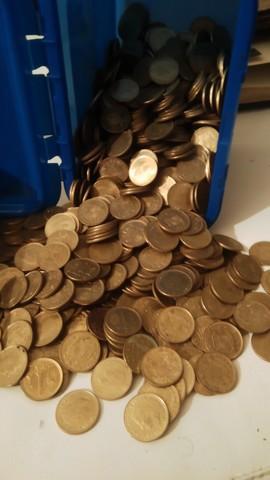 500 Monedas De Una Peseta De 1975 Y 80