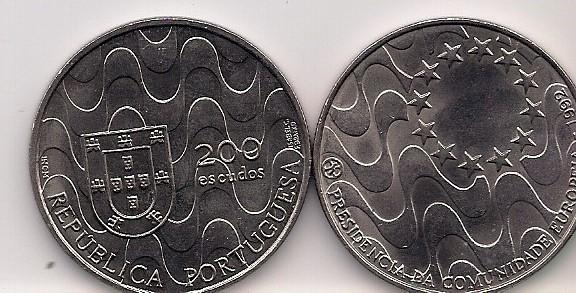 Portugal, 250 Escudos, 1992. Presidencia
