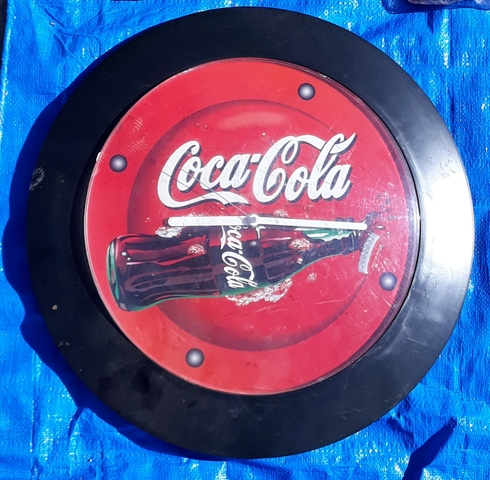 Reloj De Pared Coca-Cola.