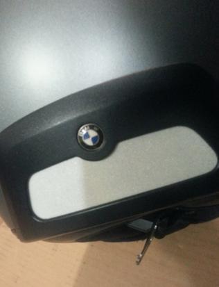 CASCO DE MOTO USADO POR CHICA BMW - foto 3