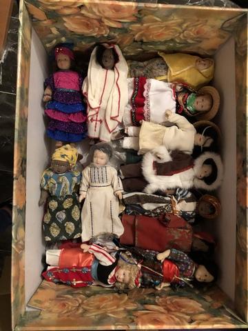 Colección Muñecas Del Mundo