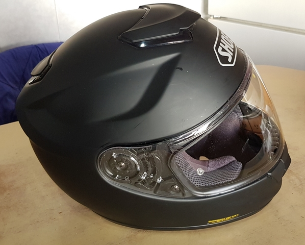 CASCO SHOEI GT -AIR NEGRO MATE - foto 3
