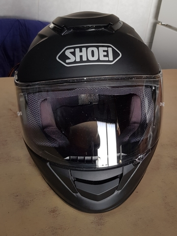 CASCO SHOEI GT -AIR NEGRO MATE - foto 1