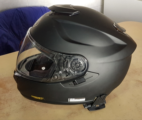 CASCO SHOEI GT -AIR NEGRO MATE - foto 4