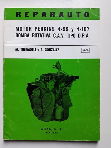 PERKINS 4108 MANUAL TALLER ORIGINAL - foto 2