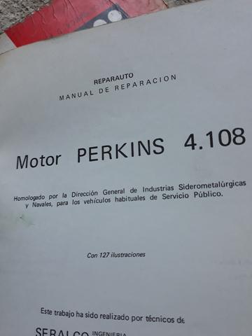 PERKINS 4108 MANUAL TALLER ORIGINAL - foto 5