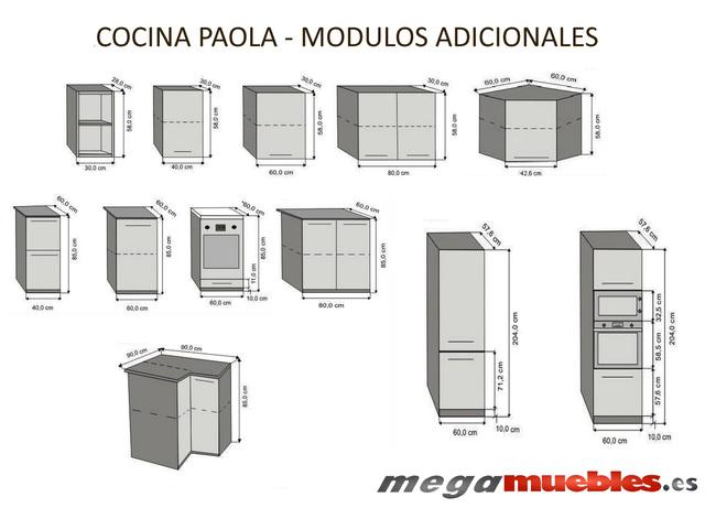 MIL ANUNCIOS.COM - Muebles cocina bajos altos 80 Segunda ...