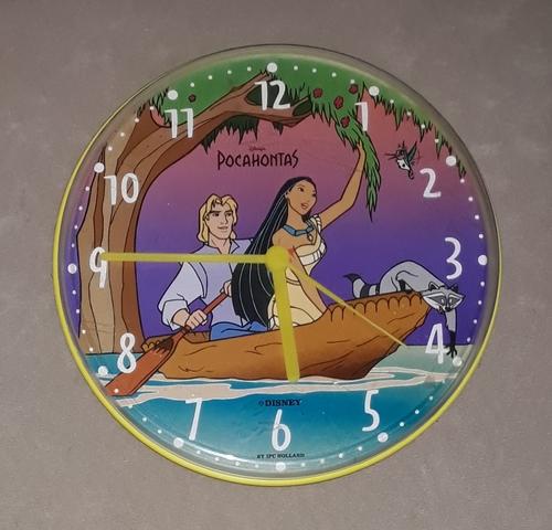 Reloj De Pared Pocahontas.