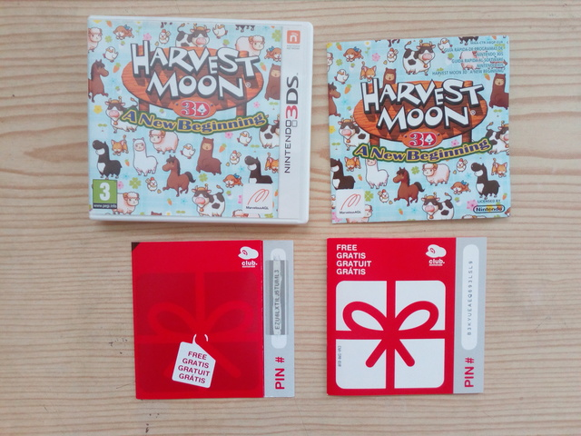 NINTENDO 3DS HARVEST MOON 3D - CAJA E IN - foto 1