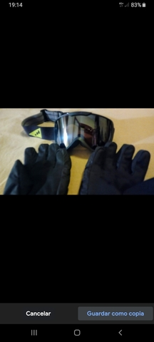 Pantalón  Esquí  Negro, Gafas, Guantes Etc