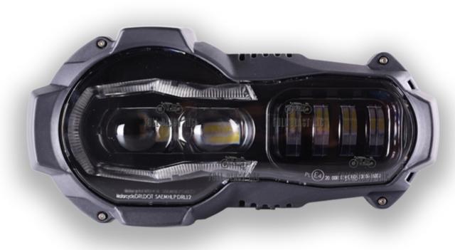 BMW LED HEADLIGHT F650 F700 F800 1200 GS - foto 3