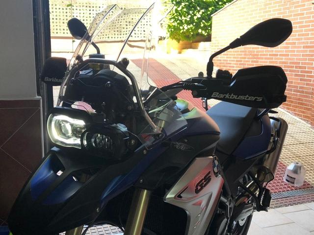 BMW LED HEADLIGHT F650 F700 F800 1200 GS - foto 6