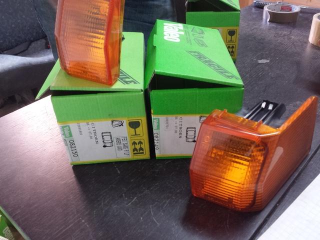 Piloto luz intermitente delantero Izquierdo CITROEN BX 86 - />94