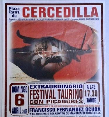 Cartel De Toros De Cercedilla  2008.