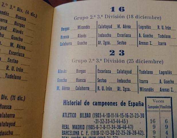Calendario 1949.Calendario Dinamico 1949 50