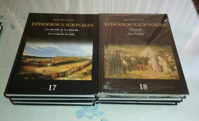 LOTE 7 LIBROS EPISODIOS NACIONALES - foto 3