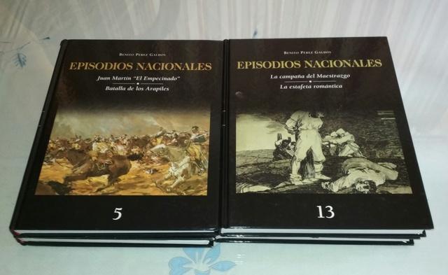 LOTE 7 LIBROS EPISODIOS NACIONALES - foto 4